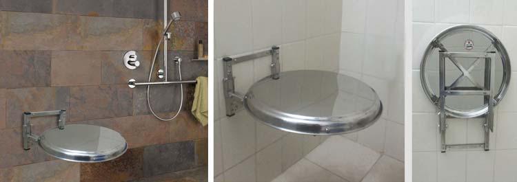 Granite Top Folding Shower Seat :